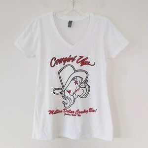 Cowgirl Up Graphic Souvenir Tee Jackson Hole WY